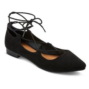 NWT Lace Up Flats